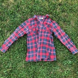 L.L. BEAN. PLAID SHIRT High Quality Soft